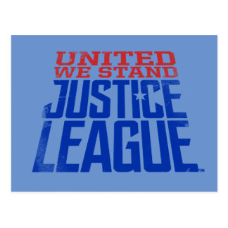 Justice League | United We Stand Graphic Postcard