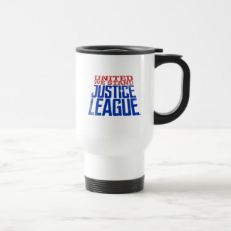 Justice League | United We Stand Graphic Travel Mug