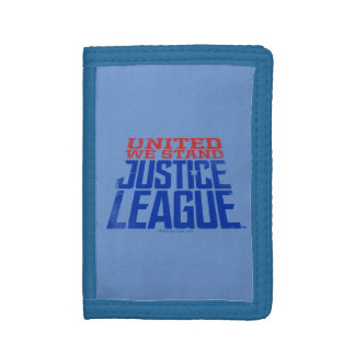 Justice League | United We Stand Graphic Trifold Wallets