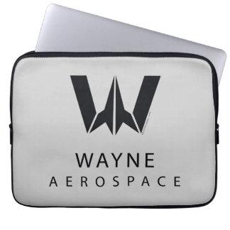 Justice League | Wayne Aerospace Logo Laptop Sleeve