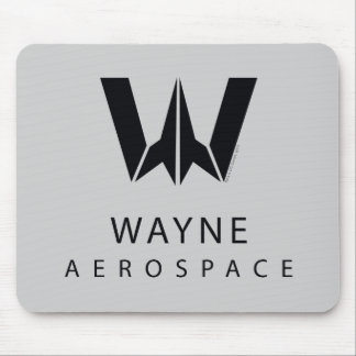 Justice League | Wayne Aerospace Logo Mouse Mat