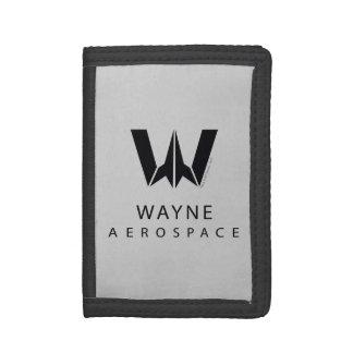 Justice League | Wayne Aerospace Logo Tri-fold Wallet