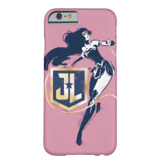 Justice League | Wonder Woman & JL Icon Pop Art Barely There iPhone 6 Case