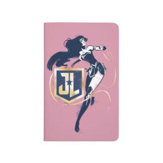 Justice League   Wonder Woman & JL Icon Pop Art Journal