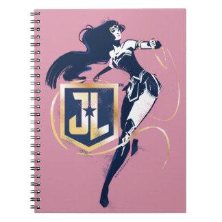Justice League | Wonder Woman & JL Icon Pop Art Notebooks