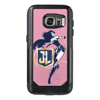Justice League | Wonder Woman & JL Icon Pop Art OtterBox Samsung Galaxy S7 Case
