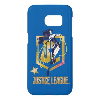 Justice League | Wonder Woman JL Logo Pop Art