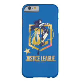 Justice League | Wonder Woman JL Logo Pop Art Barely There iPhone 6 Case