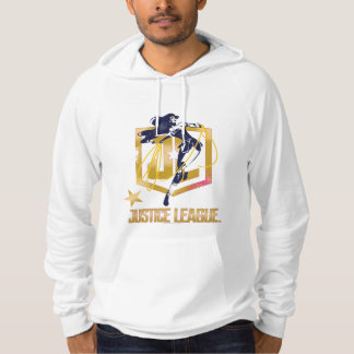 Justice League   Wonder Woman JL Logo Pop Art Hoodie