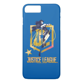 Justice League | Wonder Woman JL Logo Pop Art iPhone 8 Plus/7 Plus Case