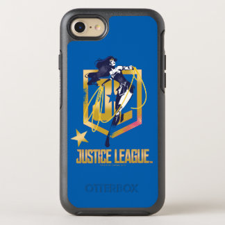 Justice League | Wonder Woman JL Logo Pop Art OtterBox Symmetry iPhone 8/7 Case