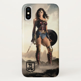 Justice League | Wonder Woman On Battlefield iPhone X Case
