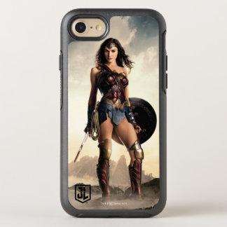 Justice League | Wonder Woman On Battlefield OtterBox Symmetry iPhone 8/7 Case