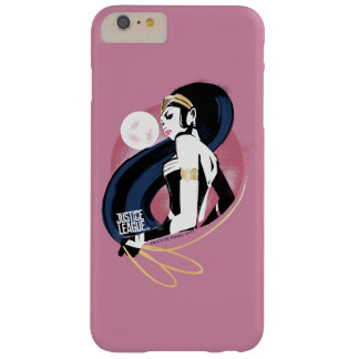 Justice League | Wonder Woman Profile Pop Art Barely There iPhone 6 Plus Case