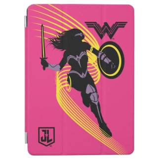 Justice League | Wonder Woman Silhouette Icon iPad Air Cover