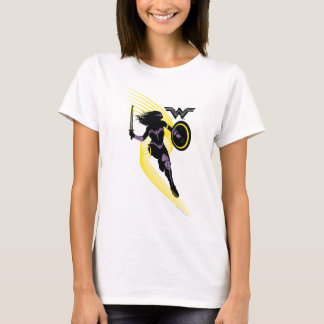 Justice League | Wonder Woman Silhouette Icon T-Shirt