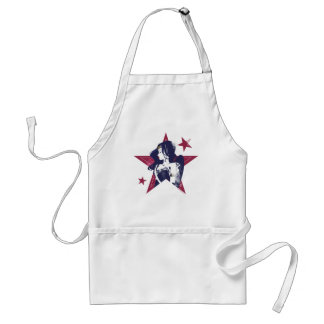 Justice League | Wonder Woman & Stars Pop Art Standard Apron