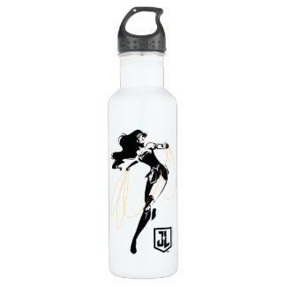 Justice League | Wonder Woman With Lasso Pop Art 710 Ml Water Bottle