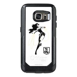 Justice League | Wonder Woman With Lasso Pop Art OtterBox Samsung Galaxy S7 Case