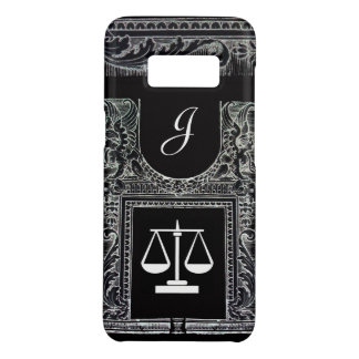 JUSTICE LEGAL OFFICE,ATTORNEY Monogram Black Case-Mate Samsung Galaxy S8 Case