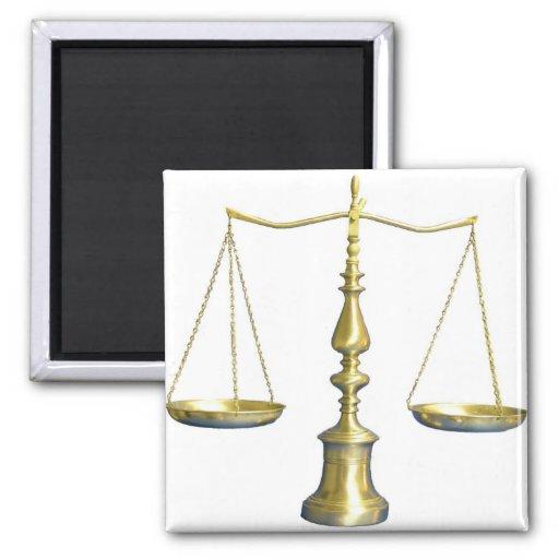 Justice Fridge Magnet