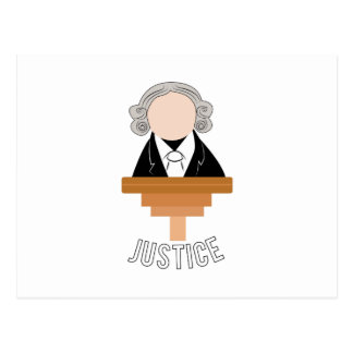 Justice Postcard