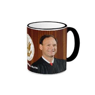 Justice Samuel Alito - U.S. Supreme Court Coffee Mugs