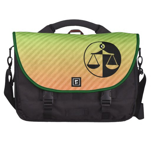 Justice Scales Commuter Bags