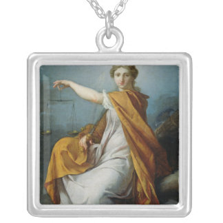 Justice Silver Plated Necklace