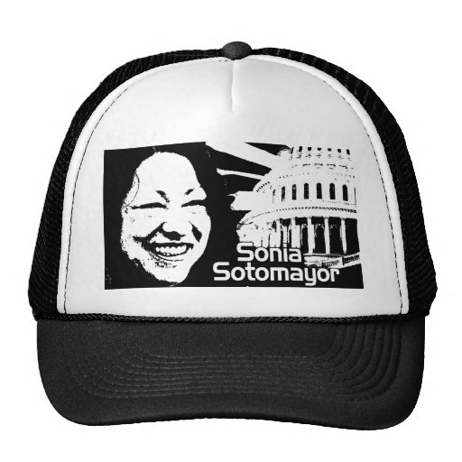 Justice Sonia Sotomayor Trucker Hats