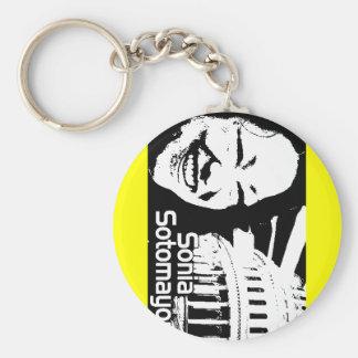 Justice  Sotomayor Basic Round Button Key Ring
