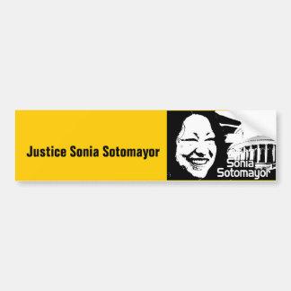 Justice  Sotomayor Bumper Sticker
