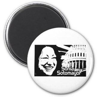 Justice Sotomayor Fridge Magnet