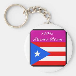 Justice Sotomayor (puerto rico) Basic Round Button Key Ring