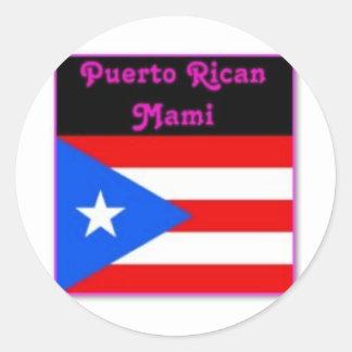 Justice Sotomayor (puerto rico)Latina Round Sticker