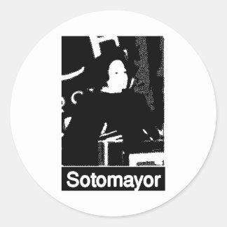 Justice Sotomayor (puerto rico) Round Sticker