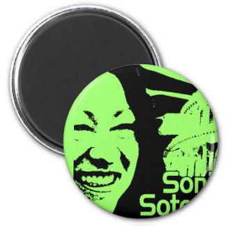 Justice  Sotomayor Refrigerator Magnet