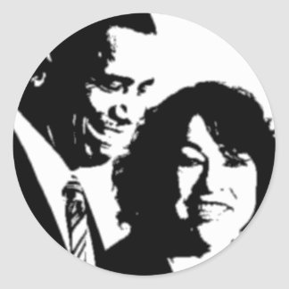 Justice Sotomayor Round Sticker