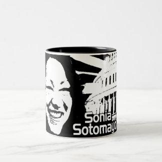 Justice  Sotomayor Two-Tone Coffee Mug