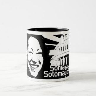 Justice  Sotomayor Two-Tone Mug