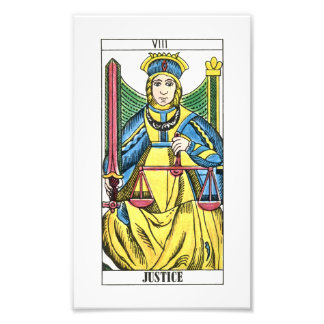 Justice Tarot Card Photo