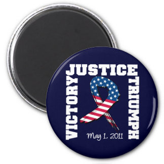 Justice Victory Triumph May 1 2011 6 Cm Round Magnet