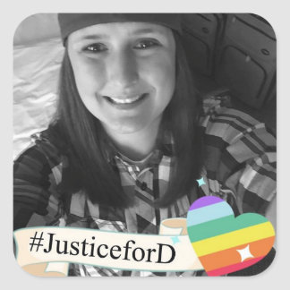 #JusticeForD Stickers