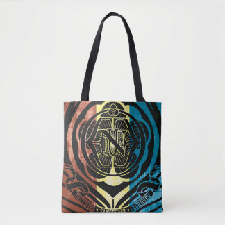 JUSTIFIED SANCTIFIED GLORIFIED MULTI TOTE BAG