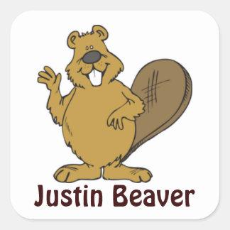 Justin Beaver Stickers