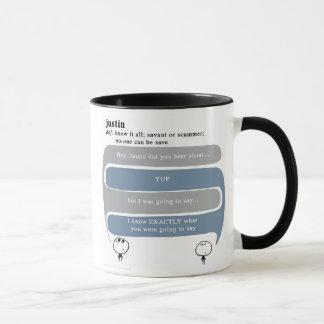 justin mug