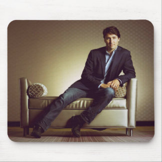 Justin Trudeau in jeans Mouse Mat