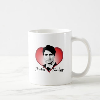 Justin Trudeau Signature Heart -.png Coffee Mug