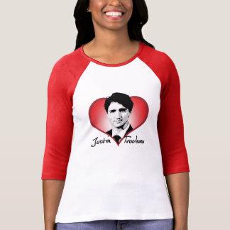 Justin Trudeau Signature Heart -.png T-Shirt