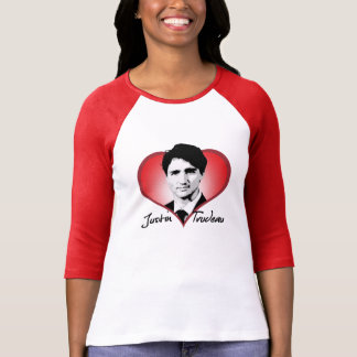 Justin Trudeau Signature Heart -.png T-shirts